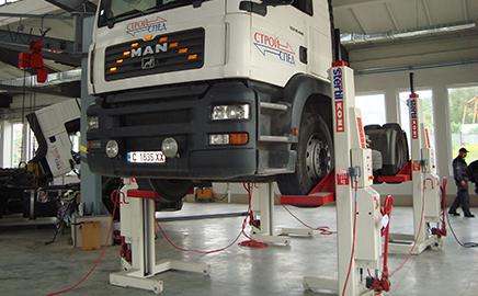 Сервиз за камиони и цистерни