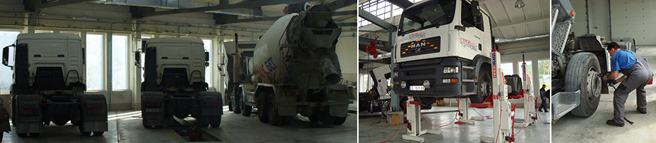 Truck and tank service
